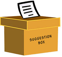 Suggestions Box
